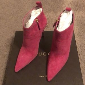 Gucci Booties (heels)